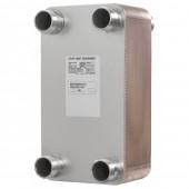 Паяные теплообменники, XB51L-2, Медь, Количество пластин: 100, 25 bar, G 2
