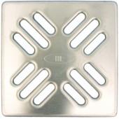 HL037N.1E Решетка KLIK-KLAK 115*115 мм из нержавеющей стали