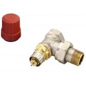 Радиаторные клапаны, RTR-N, Нормальный расход, Ду 15, Угловой, NF