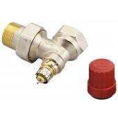 Радиаторные клапаны, RTR-N, Нормальный расход, Ду 25, Угловой, D