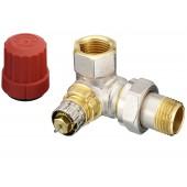 Радиаторные клапаны, RTR-N, Нормальный расход, Ду 15, Двойной угловой правый