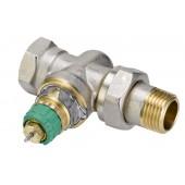Радиаторные клапаны, RA-DV, Динамический (не зависит от давления), Ду 15, Прямой, NF