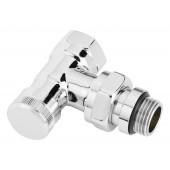 Клапан запорный RLV-CX 15 угловой хромированный