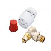 Комплект термоэлемента, Artificial, RTR 2000, RTR-N, Ду 15, Угловой