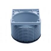 HL080.2EN Надставной элемент с подрамником 100х100 мм без решетки
