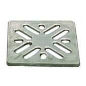 Решетка для сливного отверстия из высококачественной стали V4A 94х94мм