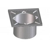 HL0300.5EN Надставной элемент с подрамником из ПП для решетки 140х140 мм