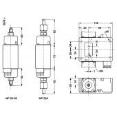 Реле дифференциального давления, MP55A