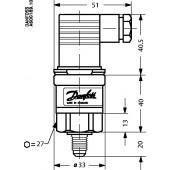 Преобразователь давления, AKS 3000