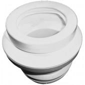 Манжета для подключения унитаза DN90 с многократной губчатой прокладкой для керамического штуцера и поворотным эксцентриком