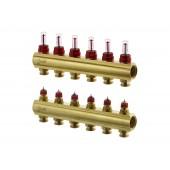 Коллекторы FHF-6F с расходомерами для 6 контуров
