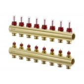 Коллекторы FHF-8F с расходомерами для 8 контуров