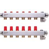 Коллекторы SSM-6 для 6 контуров