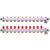 Коллекторы SSM-11 для 11 контуров