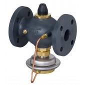 AVPB-F, Ру 25, Ду 32, Расход [м3/ч]: 0.40 - 10.00, 0.50 bar - 0.50 bar, Фланец, G 1 3/4 A, Монтажное исполнение: Обратный трубопровод