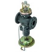 Клапан регулирующий комбинированный с автоматическим ограничением расхода AFQM, Ду80, PN25, Kvs 80
