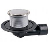 HL80.1R Трап с поворотным шарниром, круглый (выпуск DN 50/75)