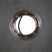 Фланец из нержавеющей стали с гидроизоляционным полимербитумным полотном 500х500 мм