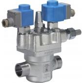 2-ступенч. электромагнитный клапан, ICLX 40
